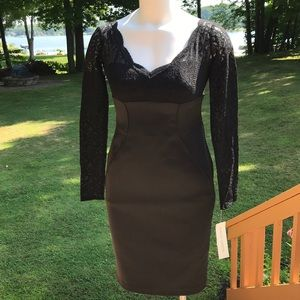 NWT Maggy London black dress size 4